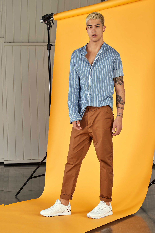 Cardenal Bilbao Fashion Man Moda Hombre Yellow Deni (1)