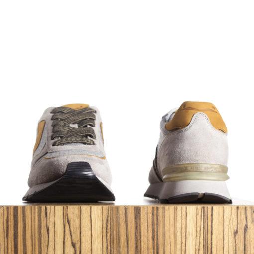 Zapatillas Liam Race Gris | Voile Blanche
